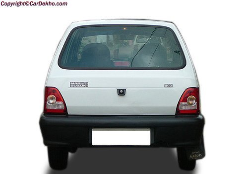 Maruti-Car-800-Rear